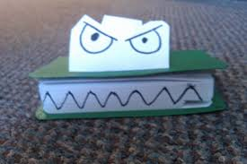 frowning book