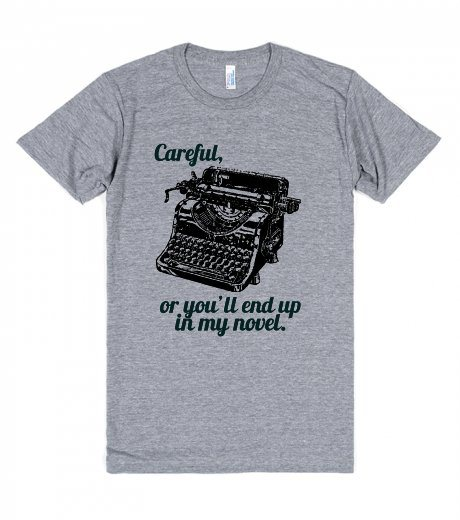Christmas-Gifts-for-Writers-Careful-or-Youll-End-Up-in-my-Novel-Tshirt