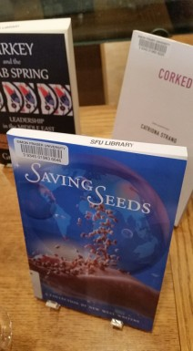 saving seeds in library